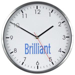Zegar reklamowy ścienny Brilant 579